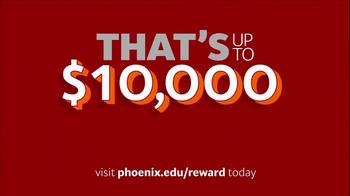 University of Phoenix Scholarship Reward Program TV Spot - Thumbnail 7