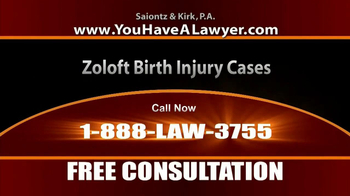 Saiontz & Kirk, P.A. TV Spot, 'Zoloft' - Thumbnail 4