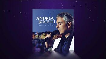 Andrea Bocelli Love in Portonfino TV Spot