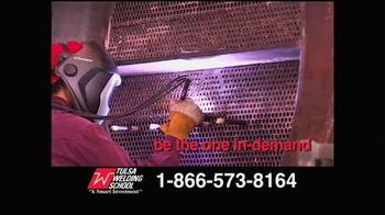 Tulsa Welding School TV Spot thumbnail