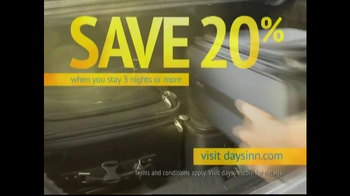 Days Inn TV Spot 'Save 20%'
