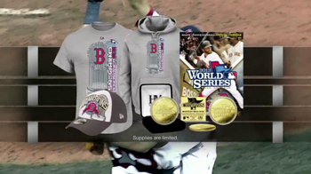 2013 World Series Champions Memorabilia TV Spot - Thumbnail 3