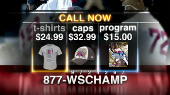 2013 World Series Champions Memorabilia TV Spot - Thumbnail 6