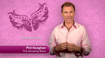 Ford Warriors in Pink TV Spot Featuring Phil Keoghan - 3 commercial airings