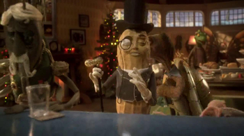 Planters Deluxe Mixed Nuts TV Spot, 'Mr. Peanut Throws a Holiday Party' - Thumbnail 4