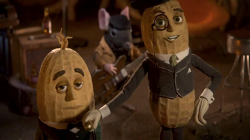 Planters Deluxe Mixed Nuts TV Spot, 'Mr. Peanut Throws a Holiday Party' - Thumbnail 8