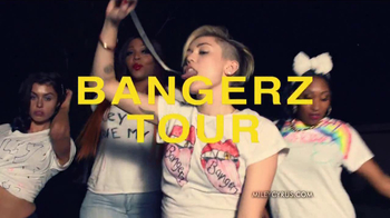 Miley Cyrus Bangerz Tour TV Spot