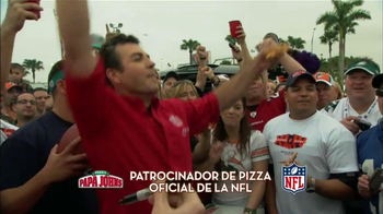Papa John's Italian Meats & Four Cheese Pizza TV Spot, 'NFL' [Spanish] - Thumbnail 1