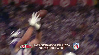 Papa John's Italian Meats & Four Cheese Pizza TV Spot, 'NFL' [Spanish] - Thumbnail 4