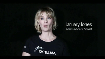 Oceana TV Spot,'Great White Sharks' Featuring January Jones