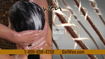 Wen Hair Care By Chaz Dean TV Spot Fearing Alyssa Milano - Thumbnail 6
