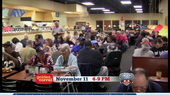 Golden Corral Military Appreciation Monday TV Spot Featuring Gary Sinise - Thumbnail 3