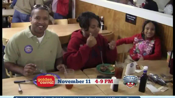 Golden Corral Military Appreciation Monday TV Spot Featuring Gary Sinise - Thumbnail 5