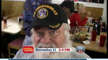 Golden Corral Military Appreciation Monday TV Spot Featuring Gary Sinise - Thumbnail 6