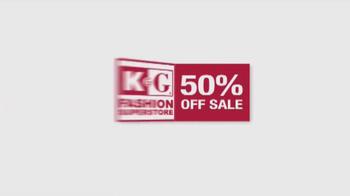 K&G Fashion Superstore 50% Off Sale TV Spot, 'Ready, Set, Celebrate' - Thumbnail 2