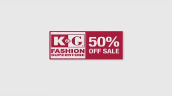 K&G Fashion Superstore 50% Off Sale TV Spot, 'Ready, Set, Celebrate' - Thumbnail 3