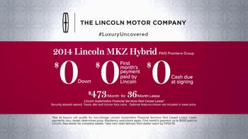 2014 Lincoln MKZ Hybrid TV Spot, 'Best Hybrid' - Thumbnail 10
