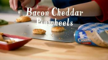 Pillsbury Crescent TV Spot, 'Holiday Bacon Cheddar Pinwheels'
