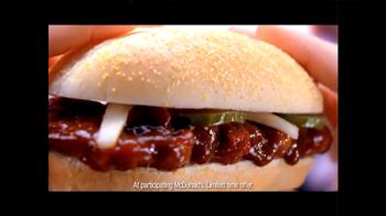 McDonald's McRib TV Spot, 'Comparisons' - Thumbnail 10