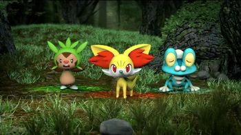 Pokemon XY Kalos Starter Set TV Spot