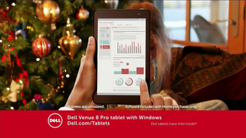 Dell Venue 7 and 8 Android Tablets TV Spot - Thumbnail 5