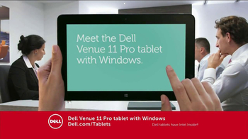 Dell Venue 7 and 8 Android Tablets TV Spot - Thumbnail 8