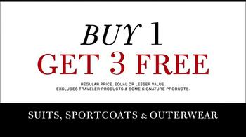 JoS. A. Bank TV Spot, 'Buy 1, Get 2 Free or Buy 1 Get 3 Free' - Thumbnail 10