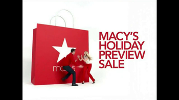 Macy's Holiday Preview Sale TV Spot - Thumbnail 2