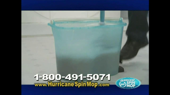 Hurricane Spin Mop TV Spot, 'Clean Water' - Thumbnail 5