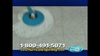 Hurricane Spin Mop TV Spot, 'Clean Water' - Thumbnail 6