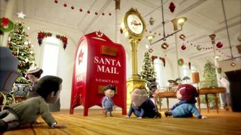 Macy's TV Spot, 'Santa Mail' [Spanish]