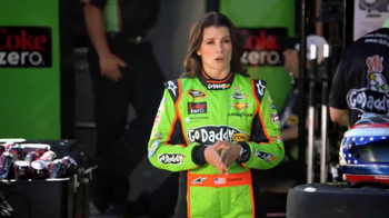 Coke Zero TV Spot, 'It's Not Your Fault: NASCAR' Featuring Danica Patrick - Thumbnail 6