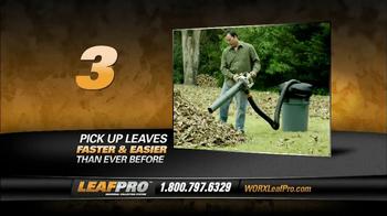 LeafPro Worx TV Spot, 'Universal Adapters' - Thumbnail 8
