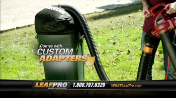 LeafPro Worx TV Spot, 'Universal Adapters'