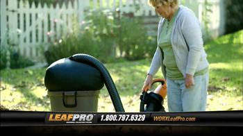 LeafPro Worx TV Spot, 'Universal Adapters' - Thumbnail 4