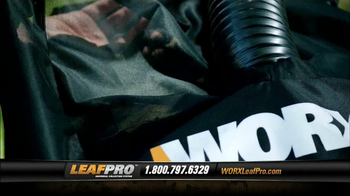 LeafPro Worx TV Spot, 'Universal Adapters' - Thumbnail 6