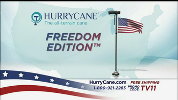 The HurryCane TV Spot, 'Freedom Edition' - Thumbnail 4