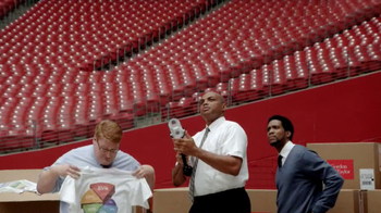 CDW TV Spot, 'HP Printer Faster Than A T-Shirt Cannon' Ft. Charles Barkley - Thumbnail 3
