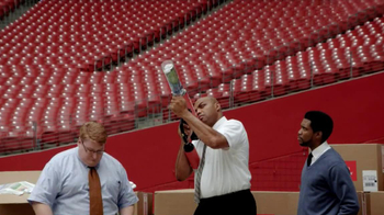 CDW TV Spot, 'HP Printer Faster Than A T-Shirt Cannon' Ft. Charles Barkley - 7 commercial airings