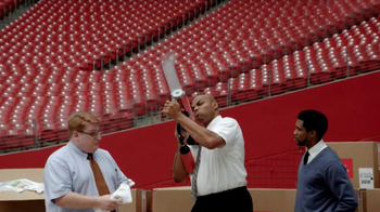CDW TV Spot, 'HP Printer Faster Than A T-Shirt Cannon' Ft. Charles Barkley - Thumbnail 6