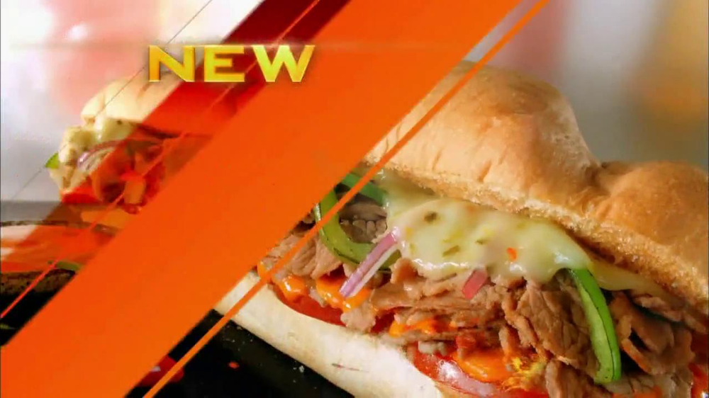Baja Fresh Breakfast >> Subway Sriracha Melts TV Commercial, 'Things are Heating Up' Featuring Mike Lee - iSpot.tv