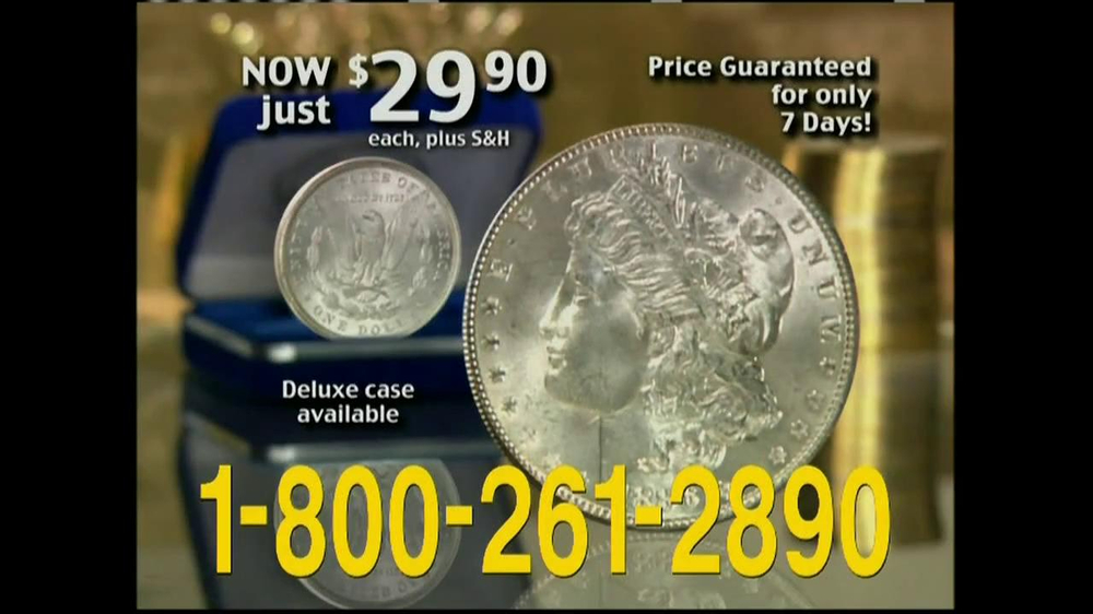 National Collector's Mint TV Commercial, 'Morgan Silver Dollar'
