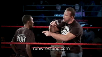Ring of Honor ROH Wrestling Volume 1 TV Spot