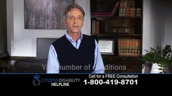 Citizens Disability Helpline TV Spot, 'Social Security Benefits' - Thumbnail 10