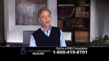 Citizens Disability Helpline TV Spot, 'Social Security Benefits' - Thumbnail 2