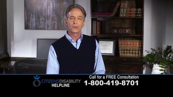 Citizens Disability Helpline TV Spot, 'Social Security Benefits' - Thumbnail 3