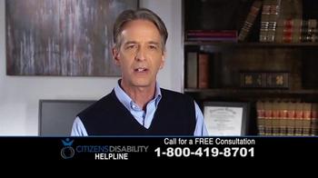 Citizens Disability Helpline TV Spot, 'Social Security Benefits' - Thumbnail 4