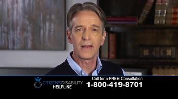 Citizens Disability Helpline TV Spot, 'Social Security Benefits' - Thumbnail 6