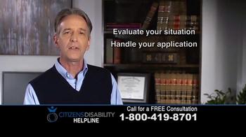 Citizens Disability Helpline TV Spot, 'Social Security Benefits' - Thumbnail 7