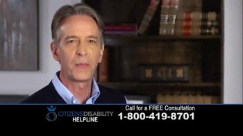 Citizens Disability Helpline TV Spot, 'Social Security Benefits' - Thumbnail 8
